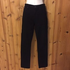 Citizen of Humanity black jeans.